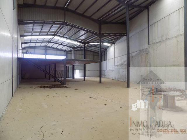 For sale of industrial plant/warehouse in Campillos