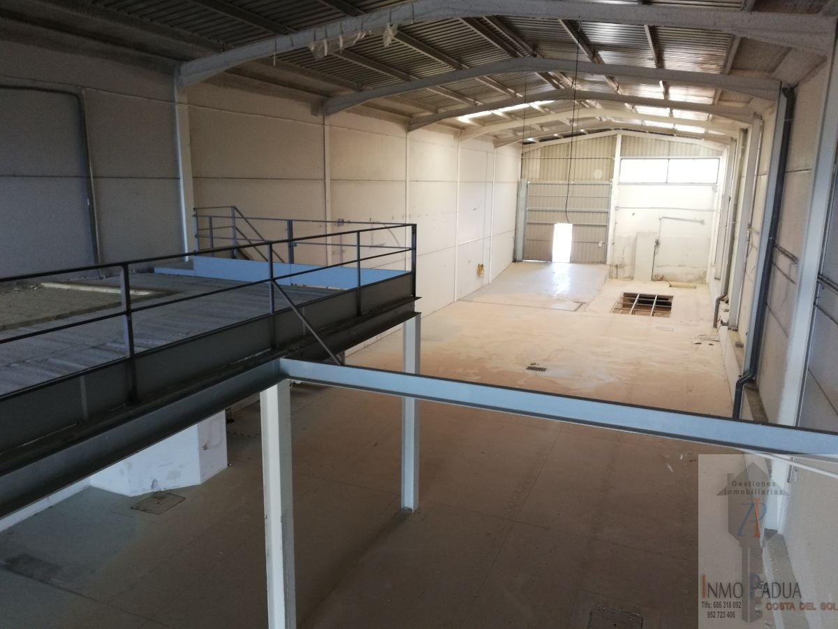 For rent of industrial plant/warehouse in Campillos