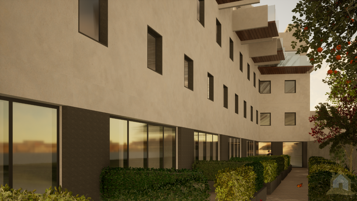 For sale of new build in San Fernando