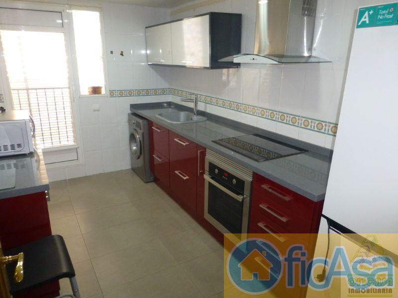 For rent of flat in Almazora