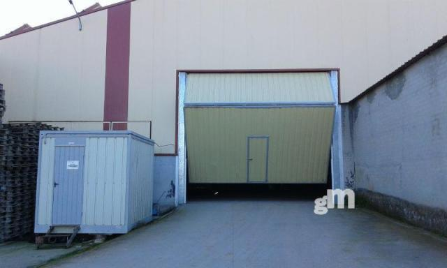 For rent of industrial plant/warehouse in Valladolid