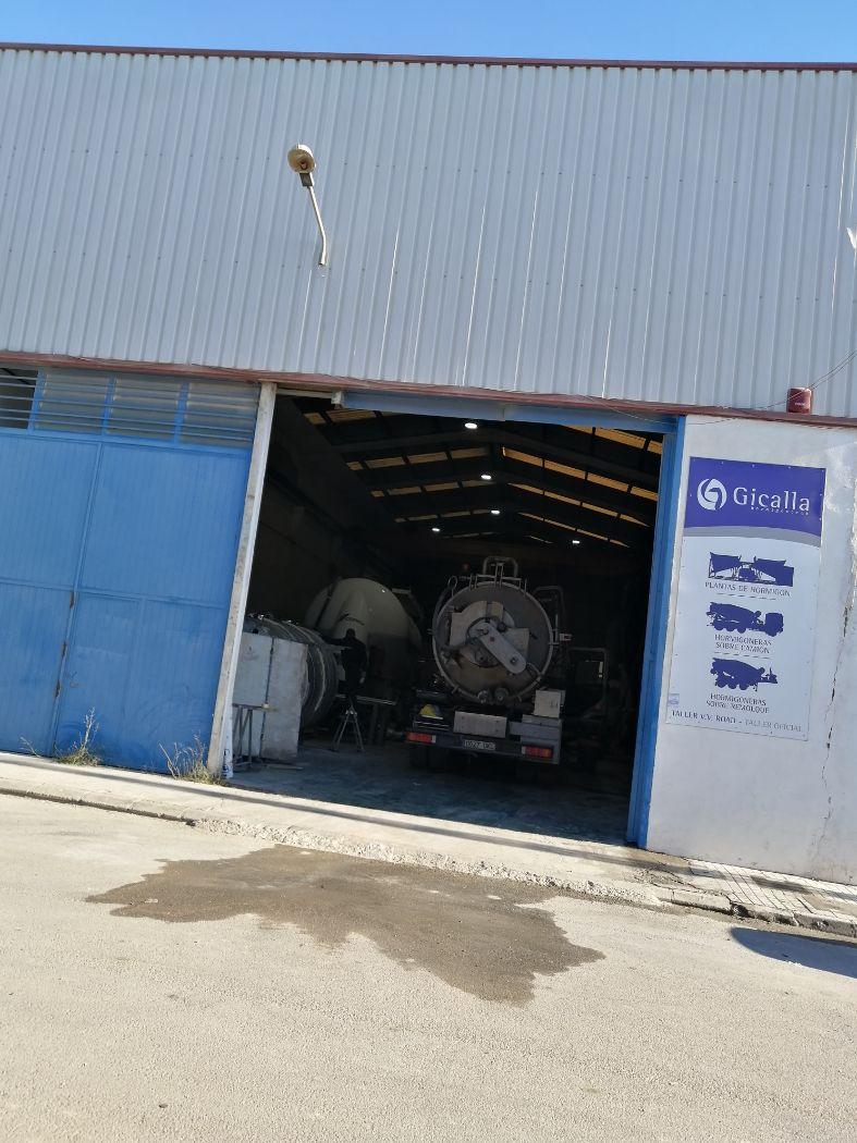 Venta de nave industrial en Buñol
