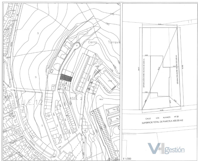 For sale of land in Villamartín