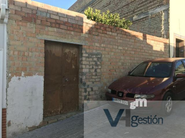 For sale of land in Villamartin