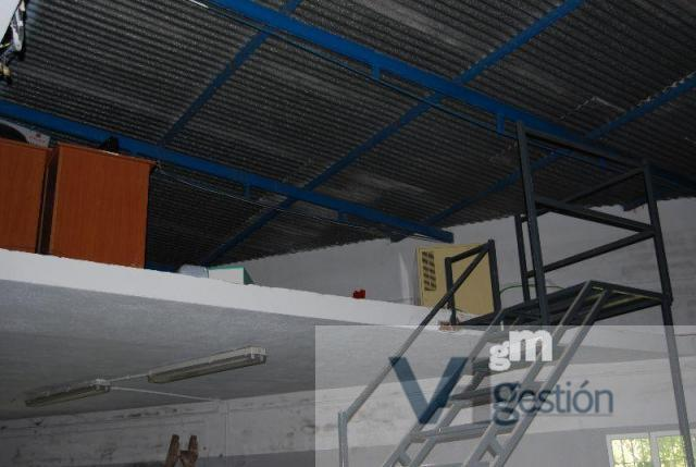 For sale of industrial plant/warehouse in Villamartín
