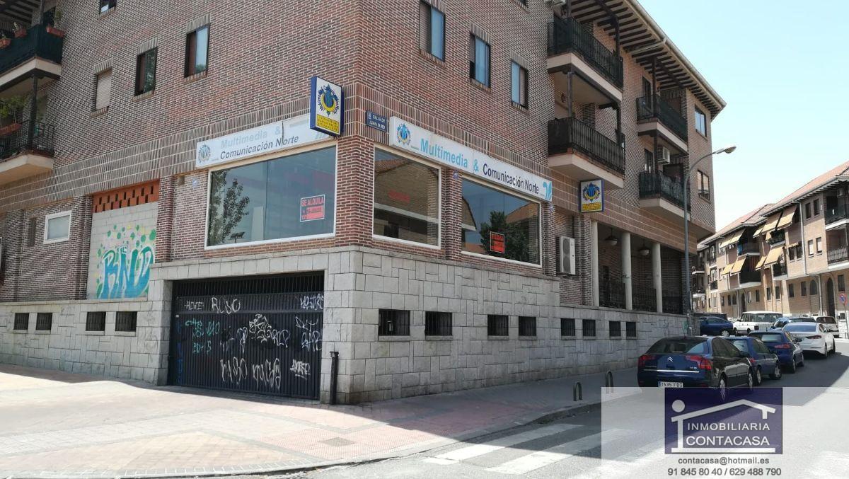 Alquiler de local comercial en Colmenar Viejo