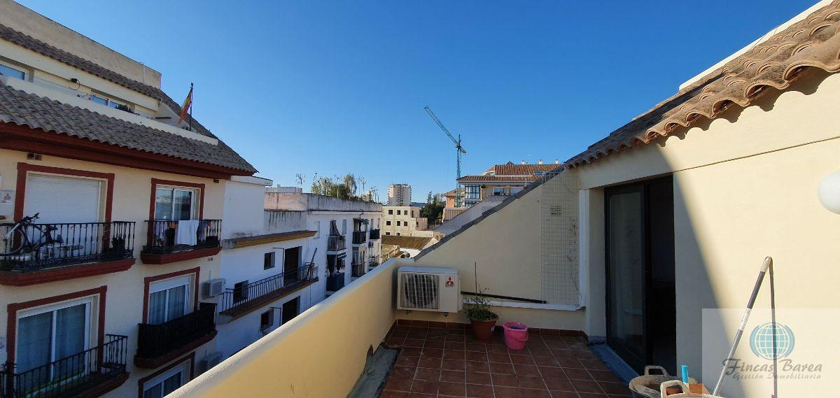 For rent of penthouse in Fuengirola