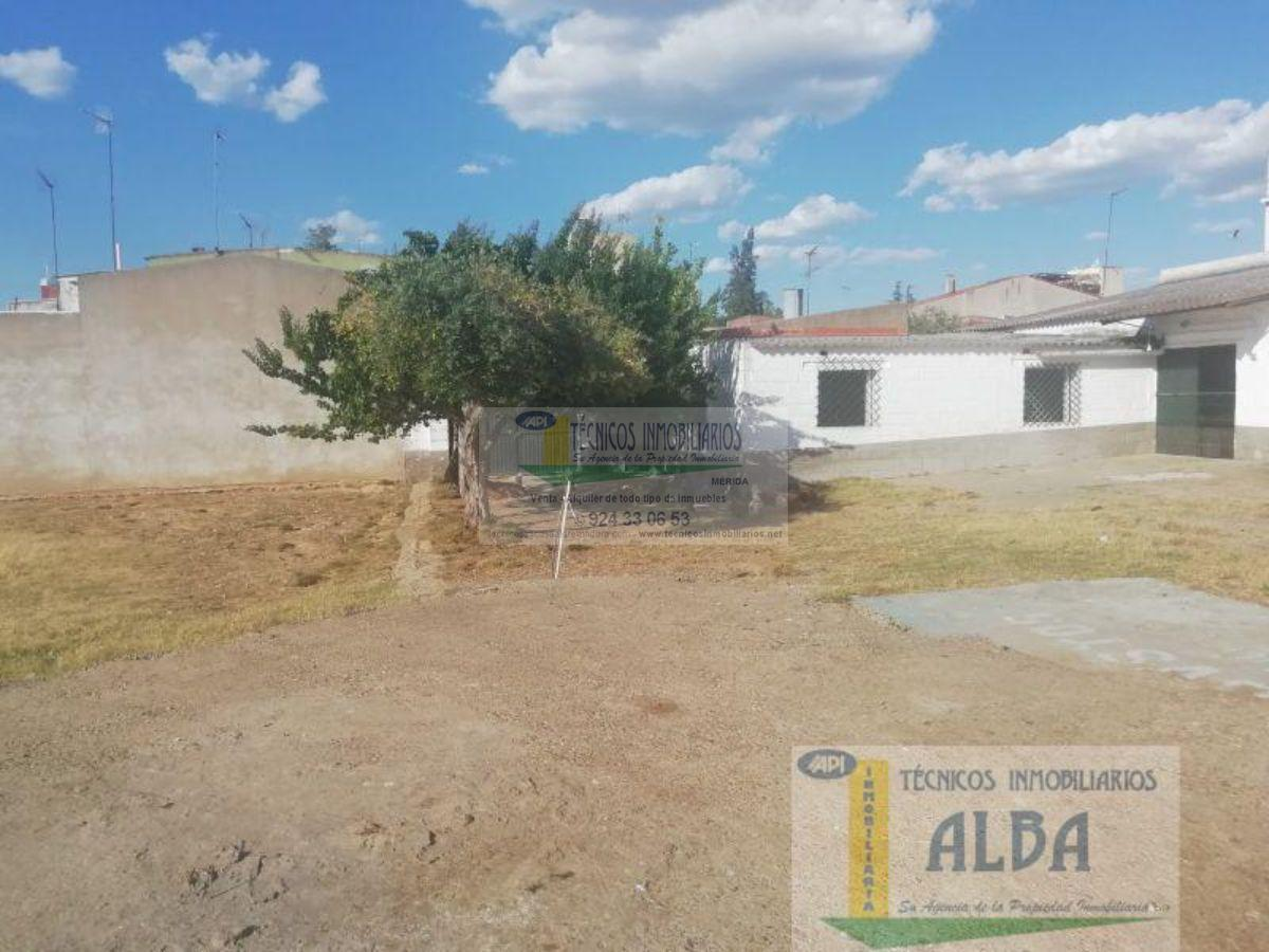 For sale of land in Mérida