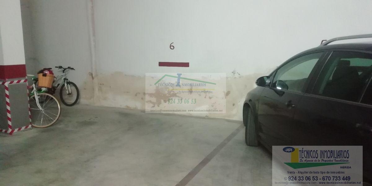 Alquiler de garaje en Mérida