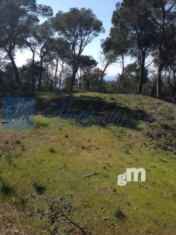 For sale of land in Palamós