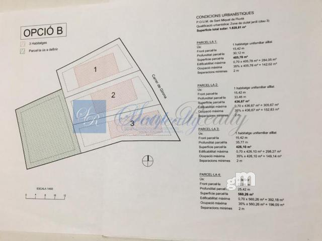 For sale of land in Sant Miquel de Fluvià