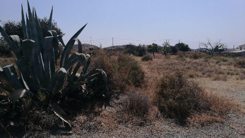 For sale of land in Huércal-Overa