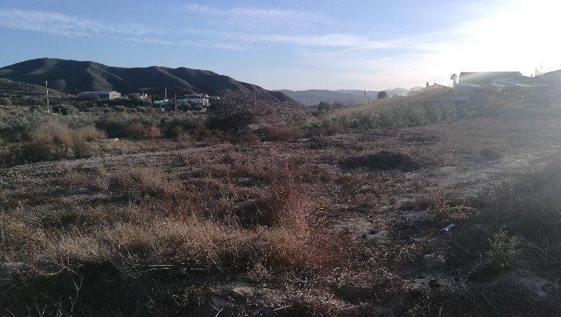 Venta de terreno en Huércal-Overa