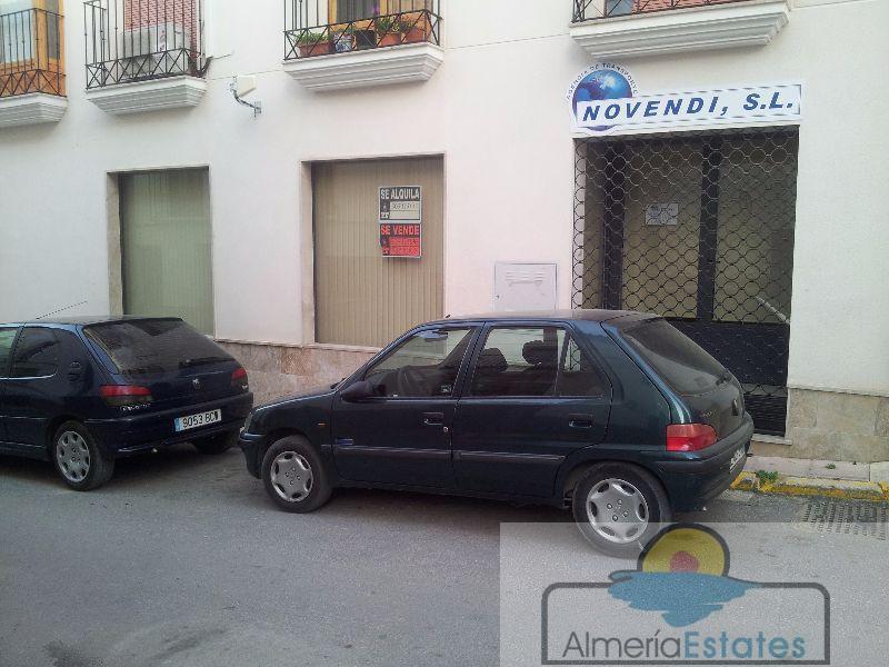 Alquiler de local comercial en Vélez-Rubio