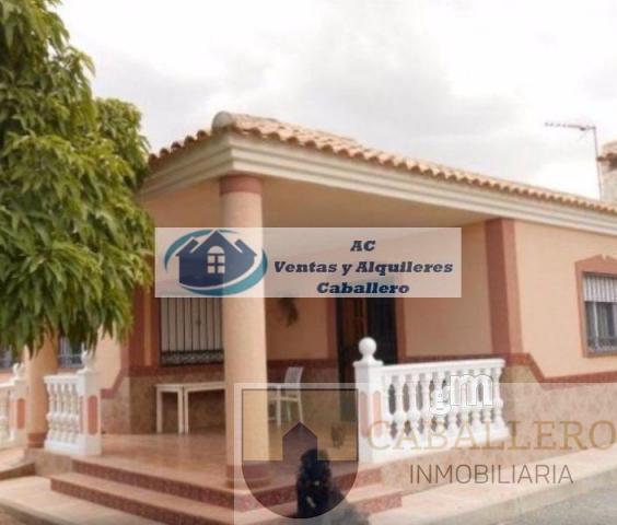 For sale of chalet in Sangonera la Seca