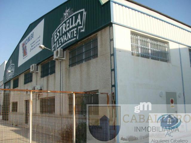 Venta de nave industrial en Murcia