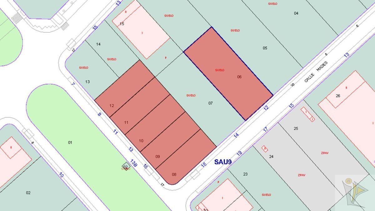 For sale of land in Meco