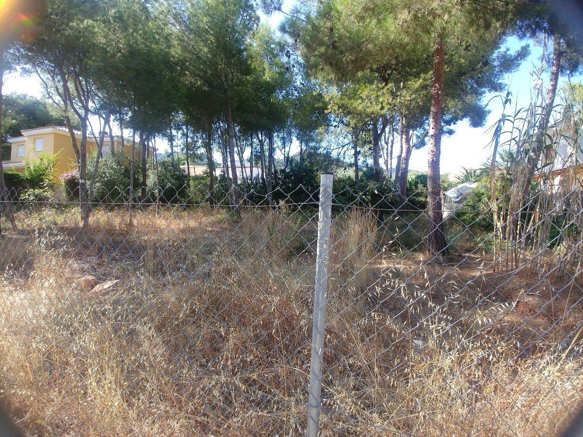 For sale of land in Benicasim