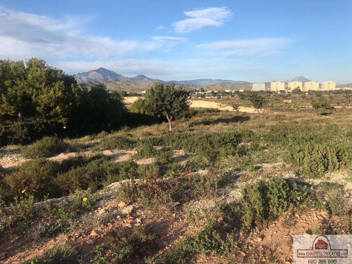 For sale of land in San Juan de Alicante
