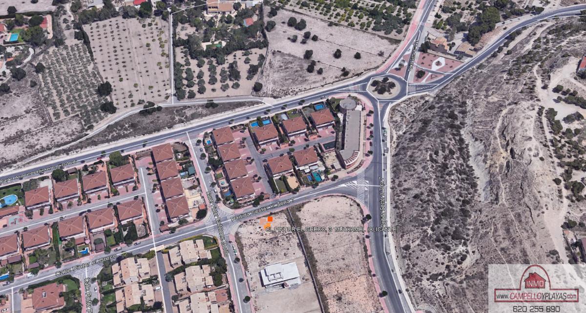 For sale of land in Mutxamel