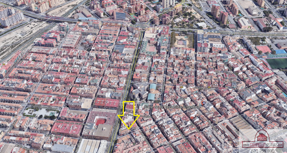 For sale of industrial plant/warehouse in Alicante
