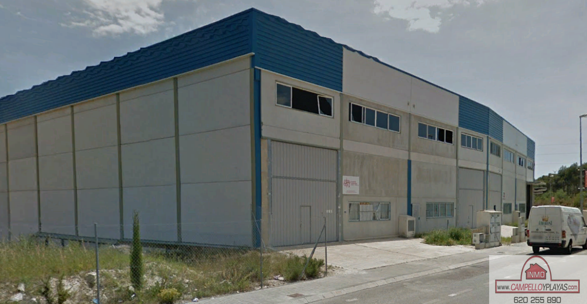 For sale of industrial plant/warehouse in La Nucia