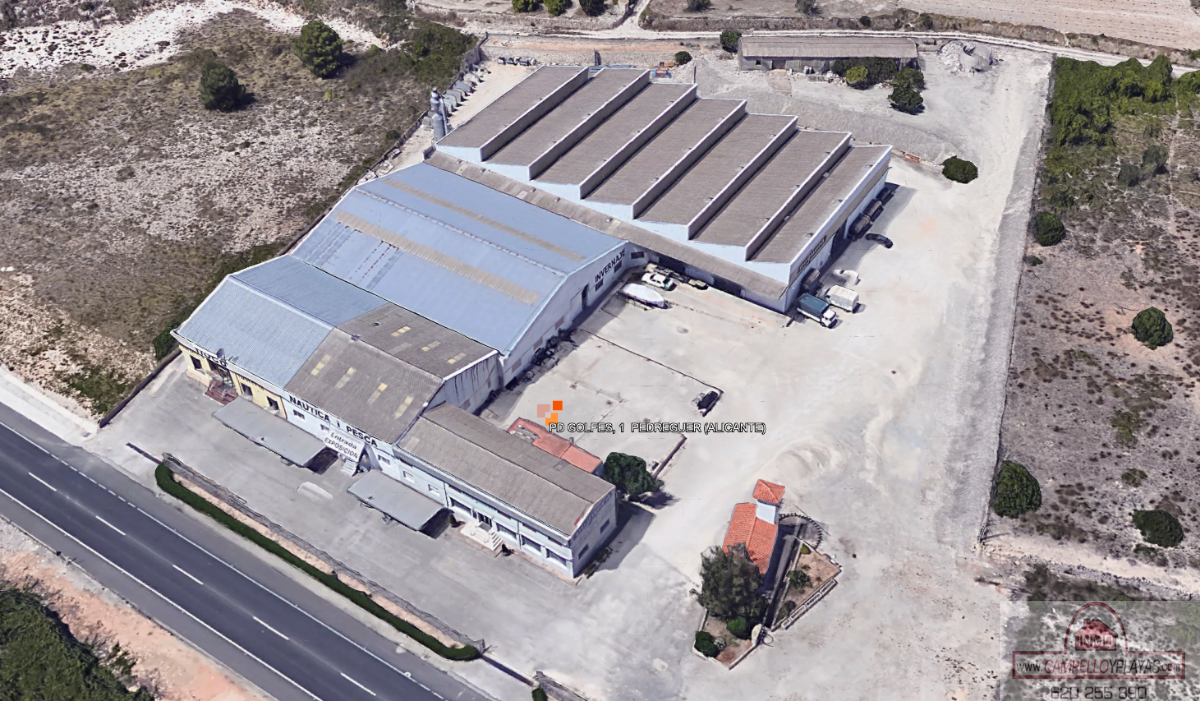 For sale of industrial plant/warehouse in Pedreguer