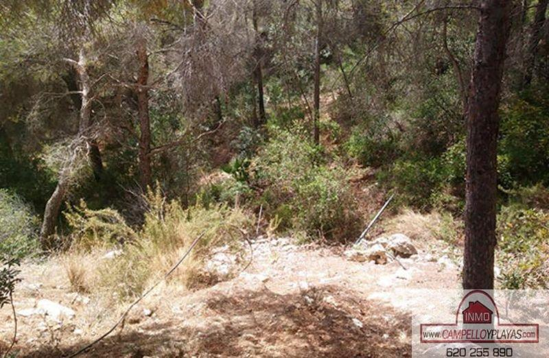 For sale of land in Benissa