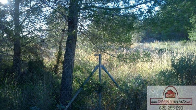 For sale of land in La Nucia