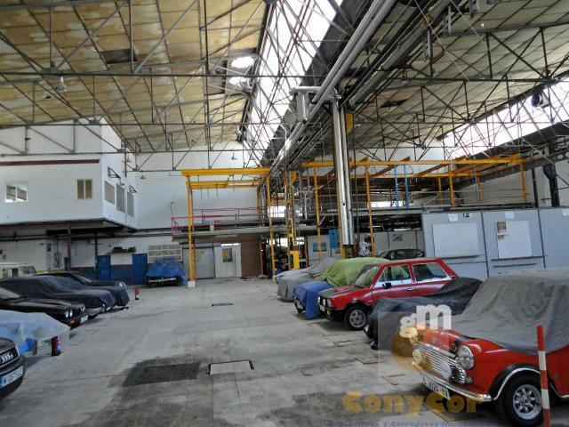For sale of industrial plant/warehouse in Coslada