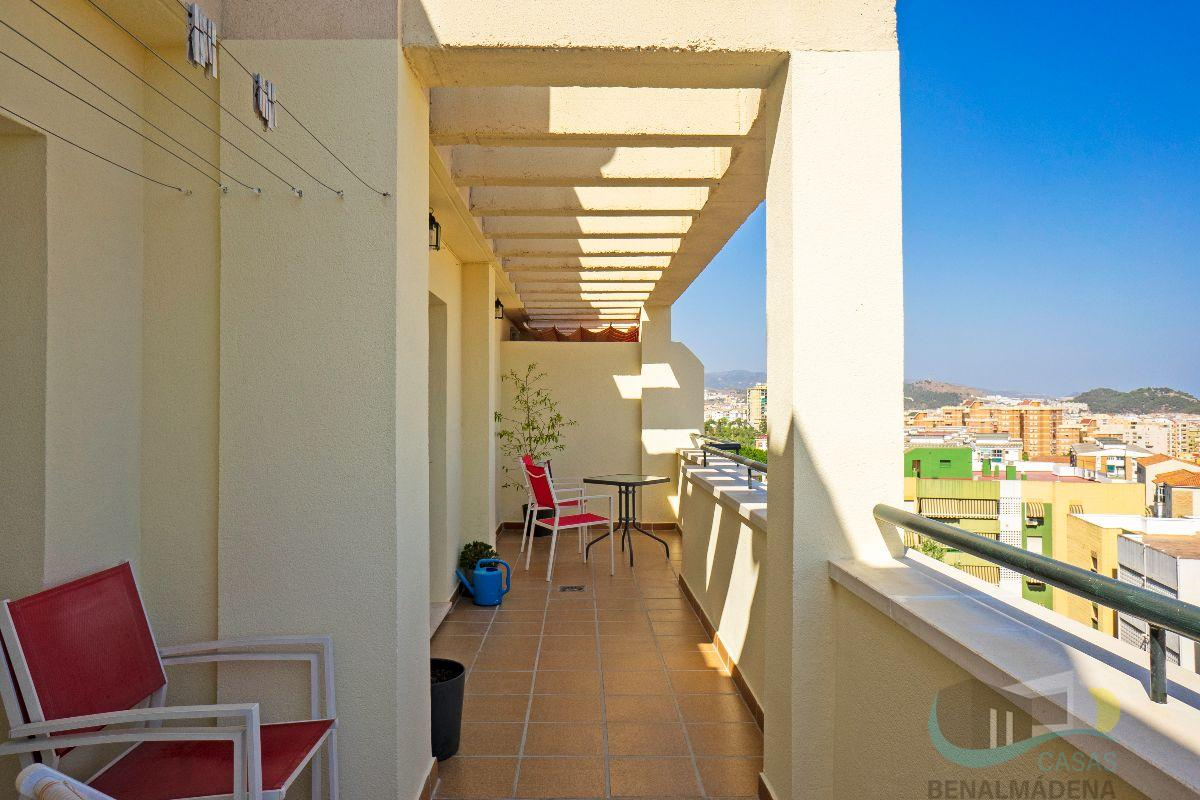 For rent of penthouse in Málaga