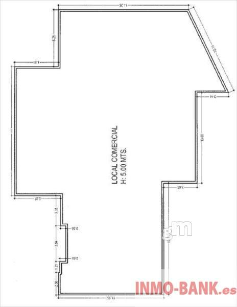 For rent of commercial in Tomiño