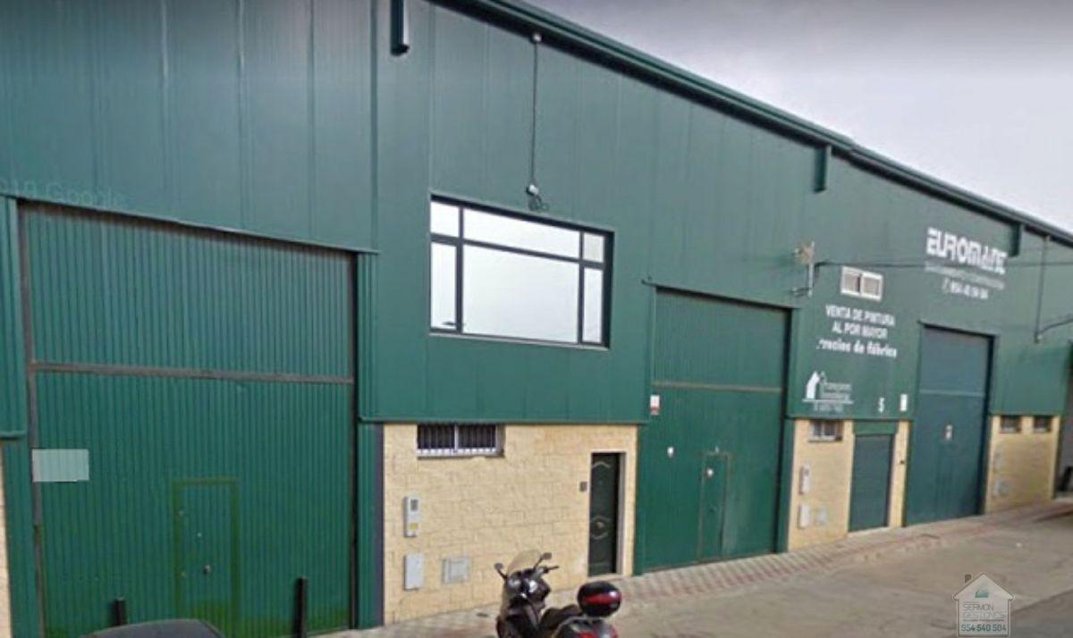 For sale of industrial plant/warehouse in Dos Hermanas