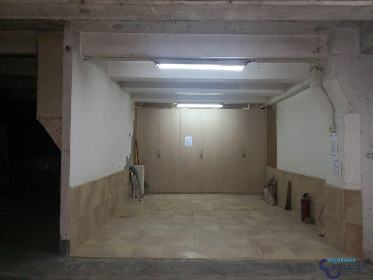 Alquiler de garaje en Donostia-San Sebastián