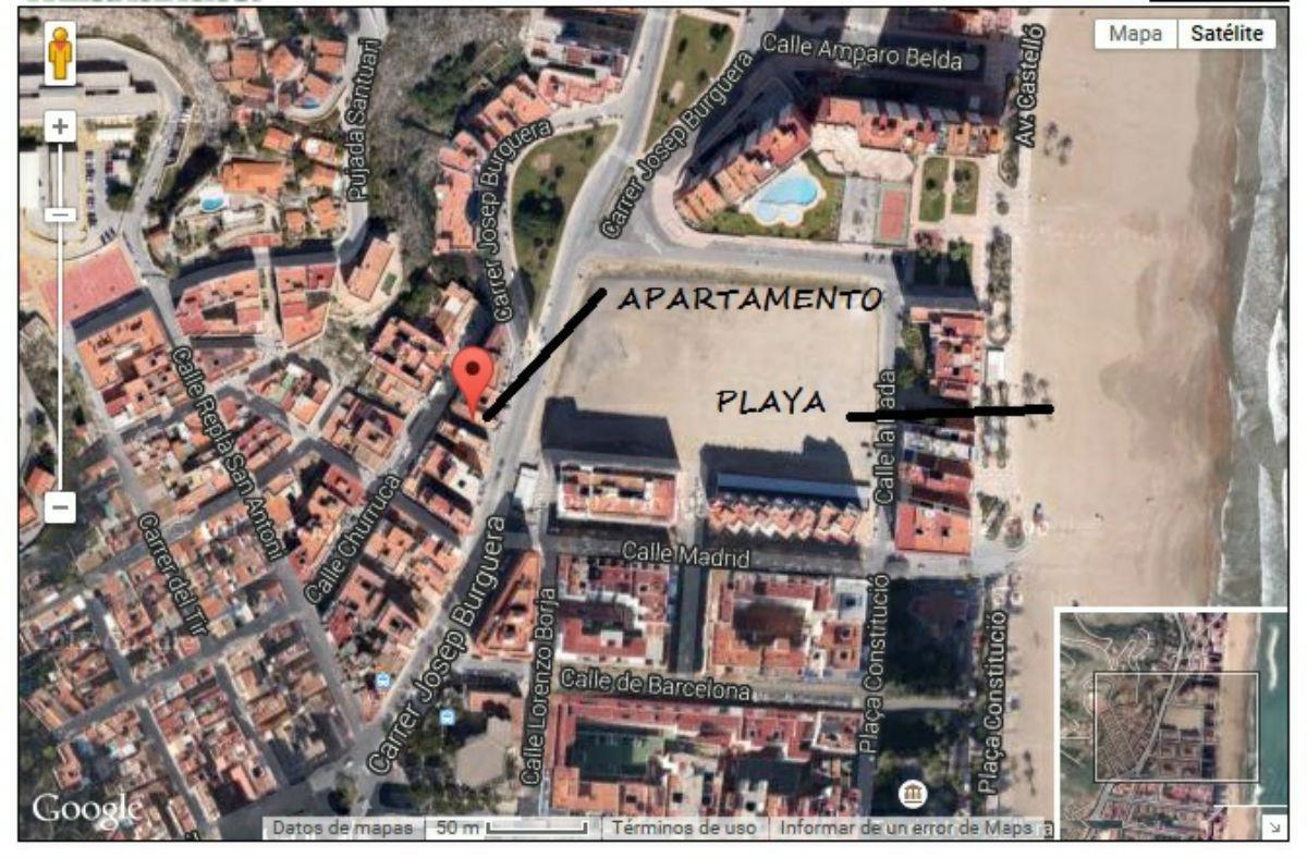 For sale of apartment in Cullera