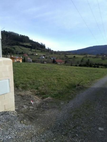 For sale of land in Allande
