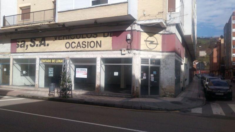 Venta de local comercial en Langreo