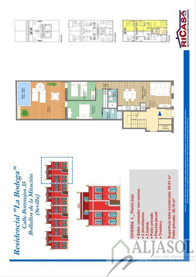 For sale of new build in Bollullos de la Mitación