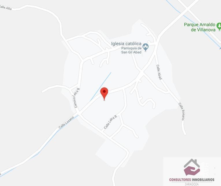 For sale of land in Villanueva de Jiloca