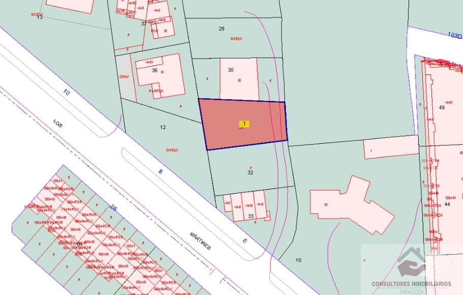 For sale of land in Rubielos de Mora