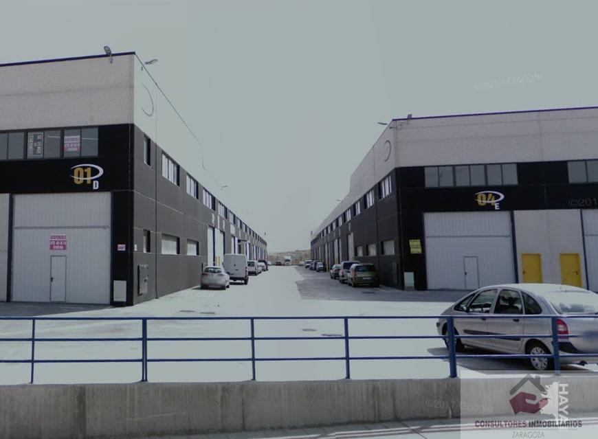 For rent of industrial plant/warehouse in Zaragoza