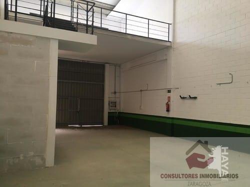 Alquiler de nave industrial en Zaragoza