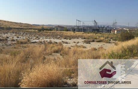 For sale of land in Zaragoza