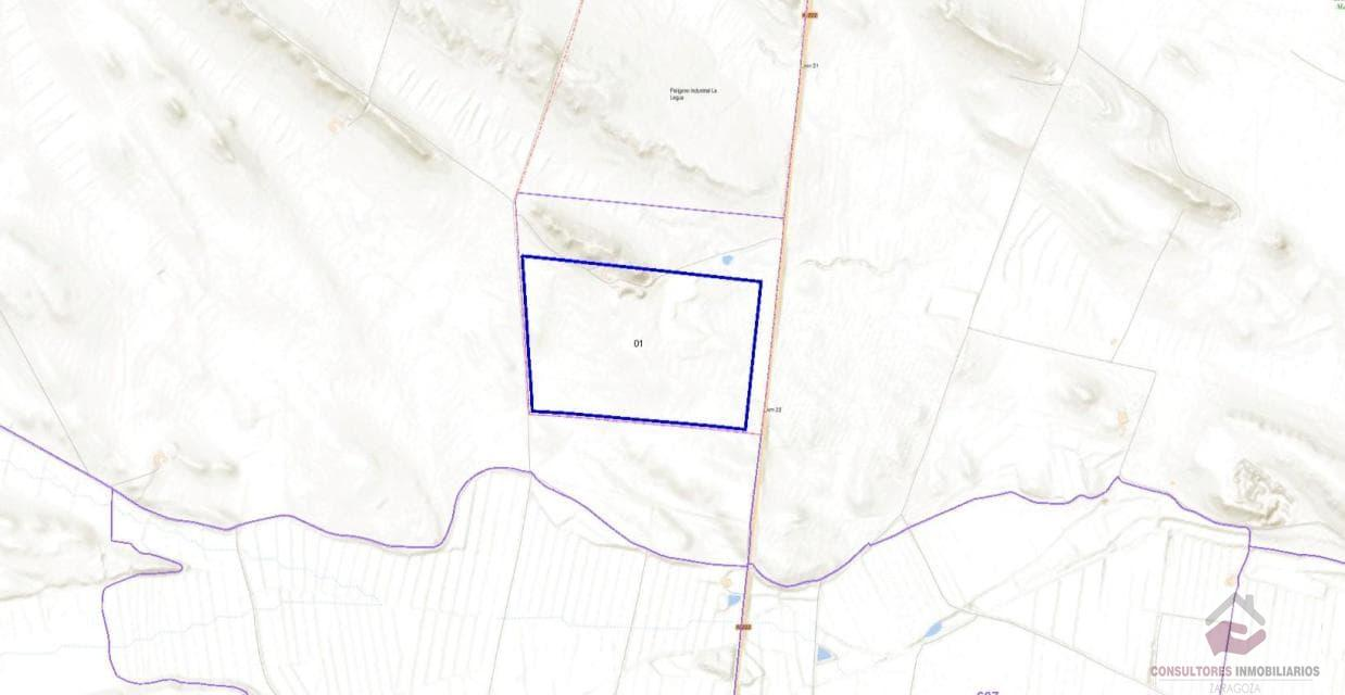 For sale of land in Belchite