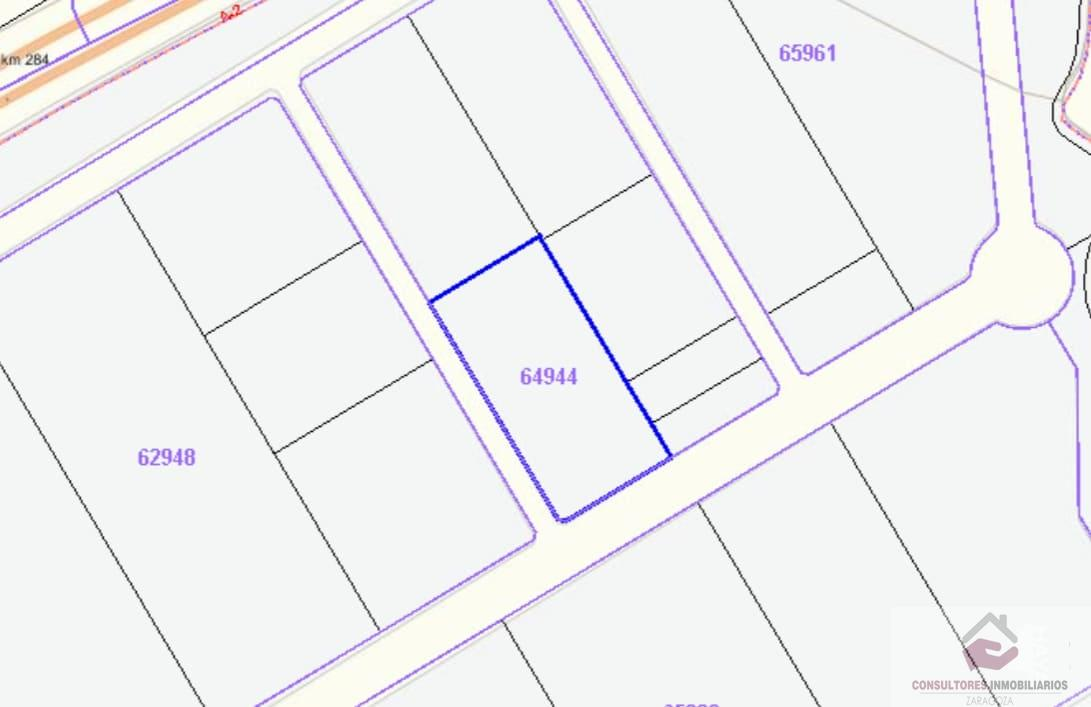 For sale of land in Calatorao