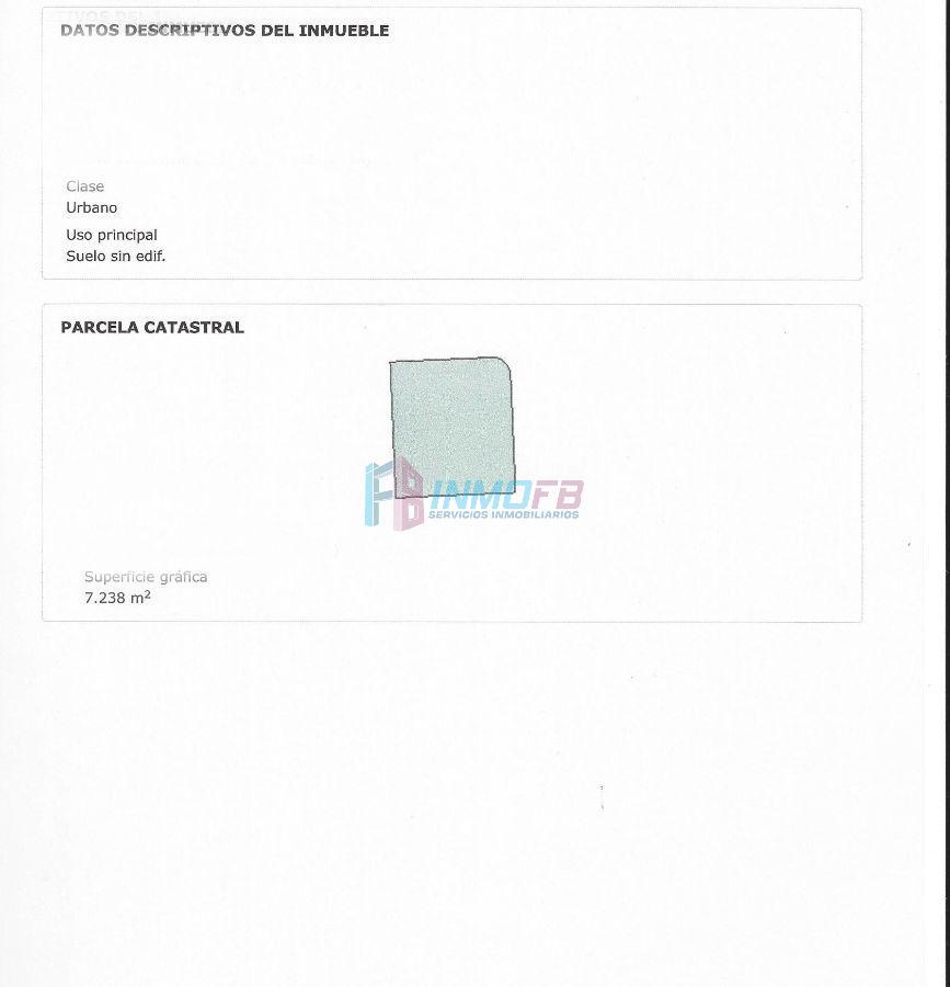 For sale of land in Valverde del Majano