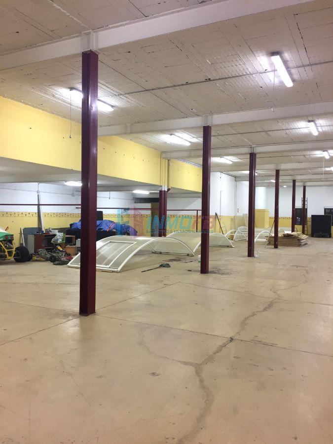 Alquiler de nave industrial en Hontoria