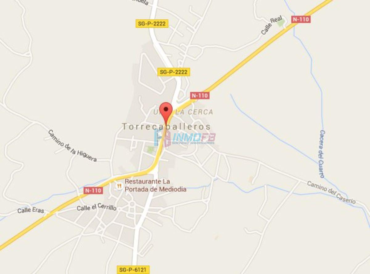 For sale of land in Torrecaballeros