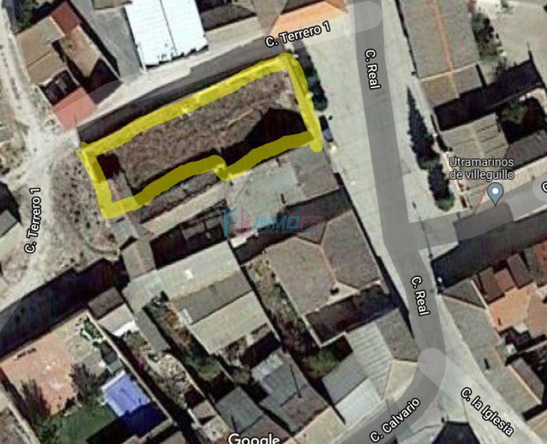 For sale of land in Villeguillo
