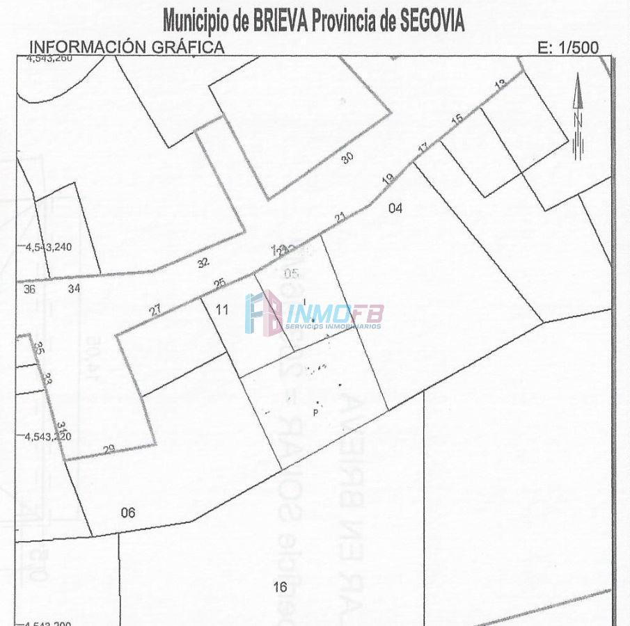 For sale of land in Brieva